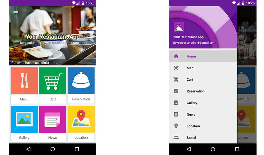 10 Best Restaurant App Templates Mind Map Engineers