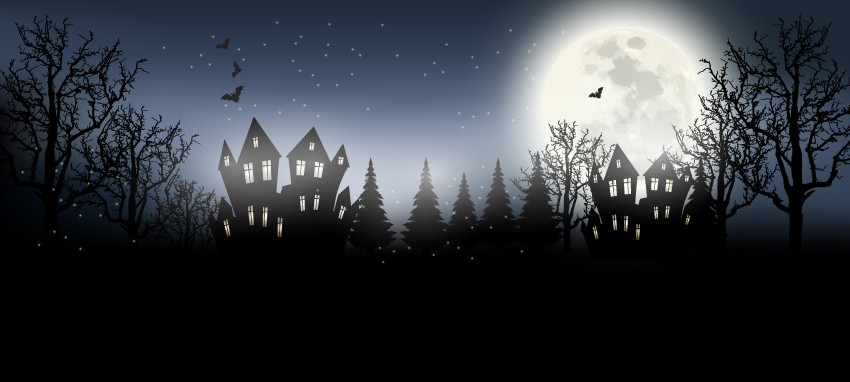 How to Draw a Spooky Halloween Background in Adobe Illustrator