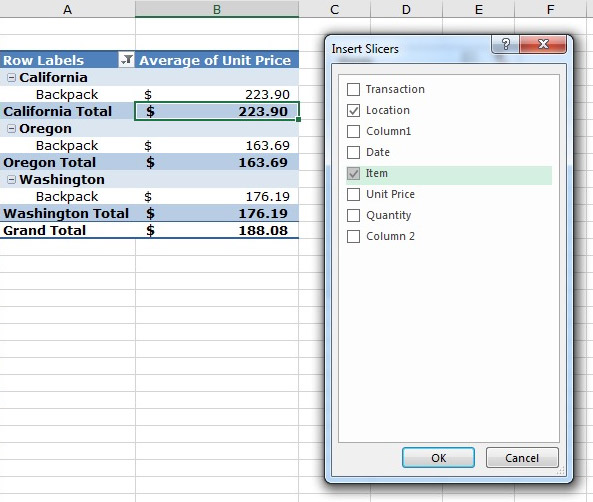 How To Make Use of 5 Advanced Excel Pivot Table Techniques - pivot table in excel