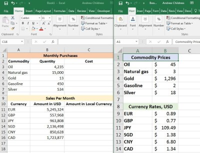 How to Link Your Data in Excel Workbooks Together - ThemeKeeper.com