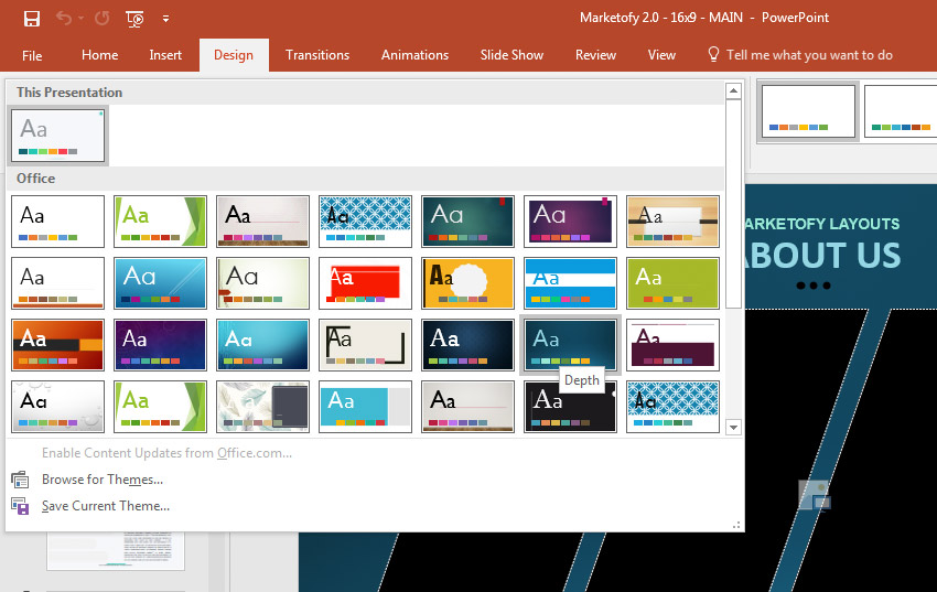 How to Quickly Change PowerPoint Templates (Download  Import)