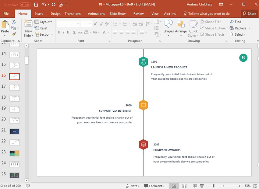 How to Make a Timeline in PowerPoint With Templates - powerpoint timeline