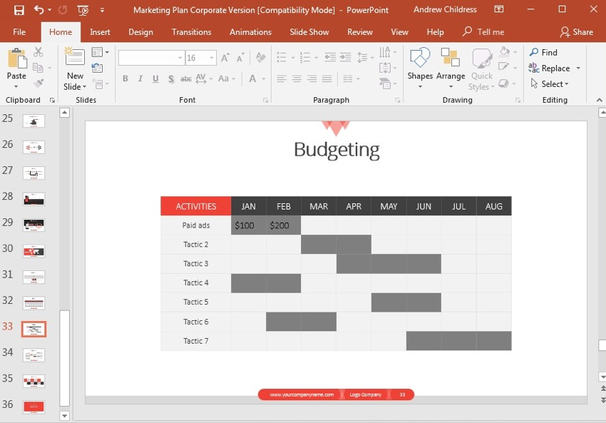 How to Make Pro Marketing Plan PowerPoint Presentations