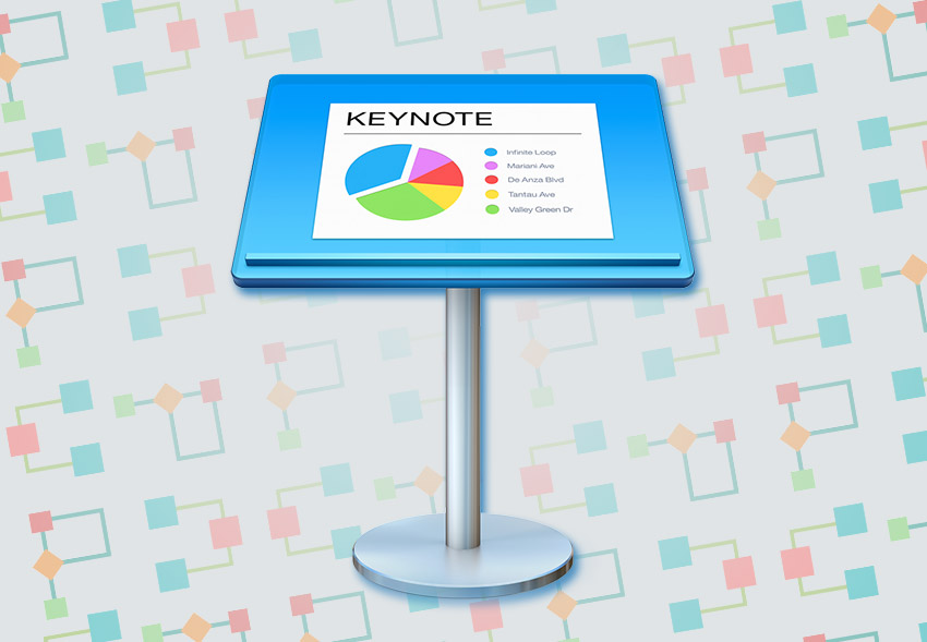 How to Make Flowcharts  Gantt Charts in Keynote With Templates