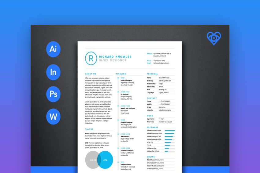 20 Top One-Page Resume Templates (With Simple to Use Examples) - Resume Template App