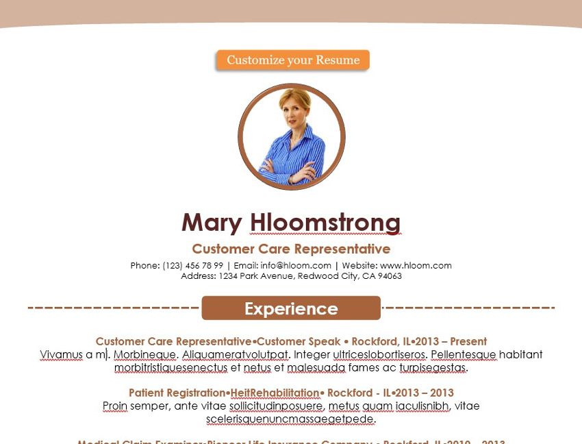 20 Free Creative Resume Templates (Word  PSD Downloads)