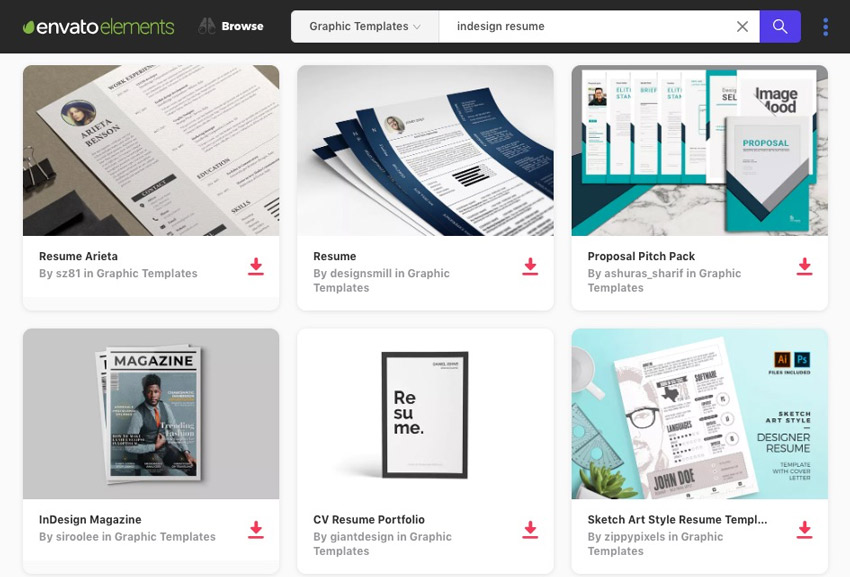 35+ Best InDesign Resume Templates (Free + Pro Downloads)