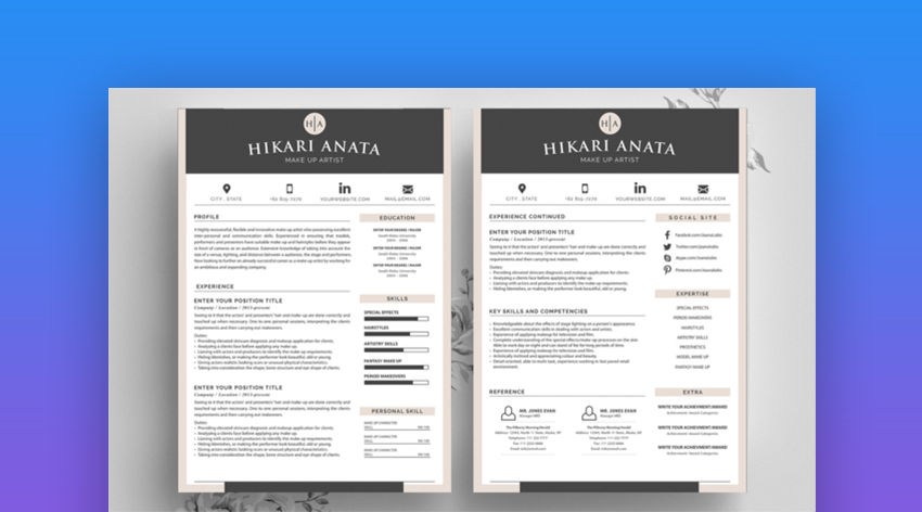 20 Best Contemporary (New Styles) Resume Templates (For 2019)