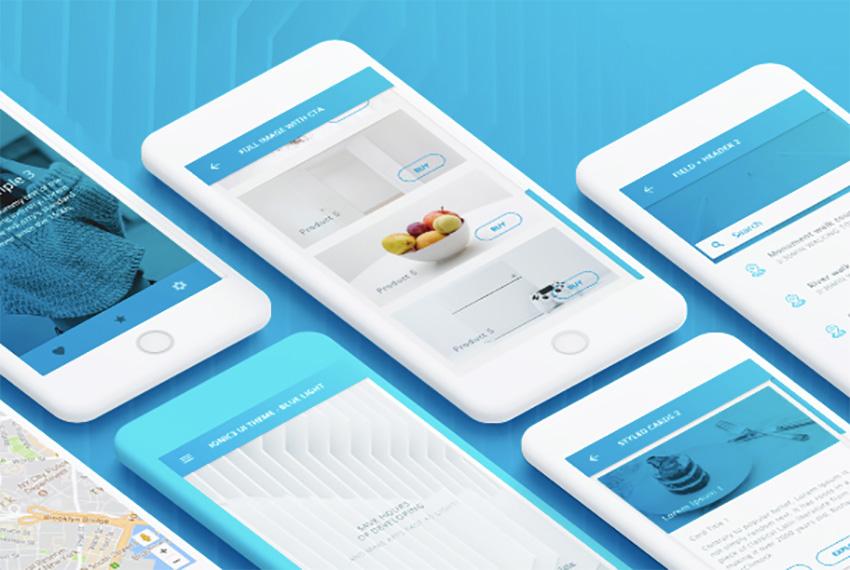 15 Ready-Made Ionic 3 App Templates