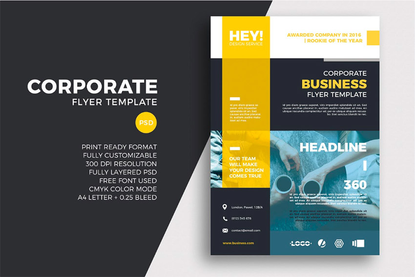 Best of 2018 20+ Online Flyer Maker Template Designs