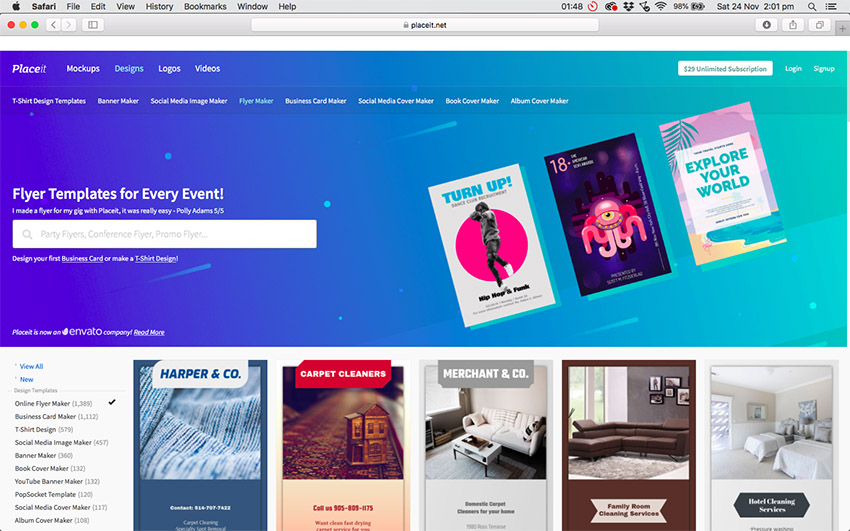 20+ Best Party  Event Flyer (Maker App) Template Designs