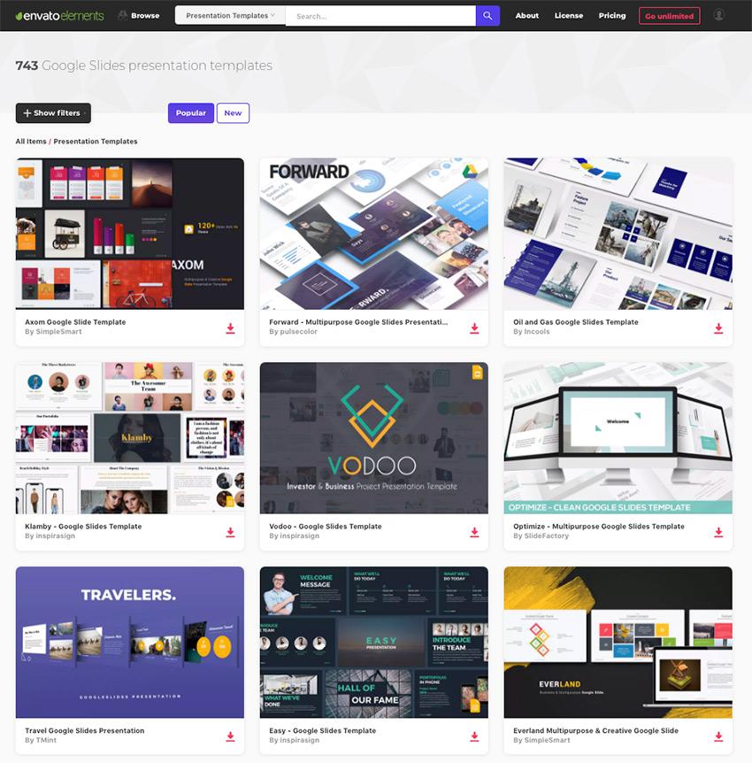 15+ Best Google Slides Presentation Themes (Premium Templates to