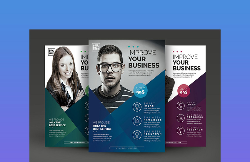 20 Business Flyer Templates (Creative Layout Designs  Industry