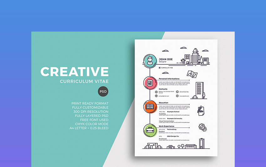 25+ Creative Resume Templates To Land a New Job in Style