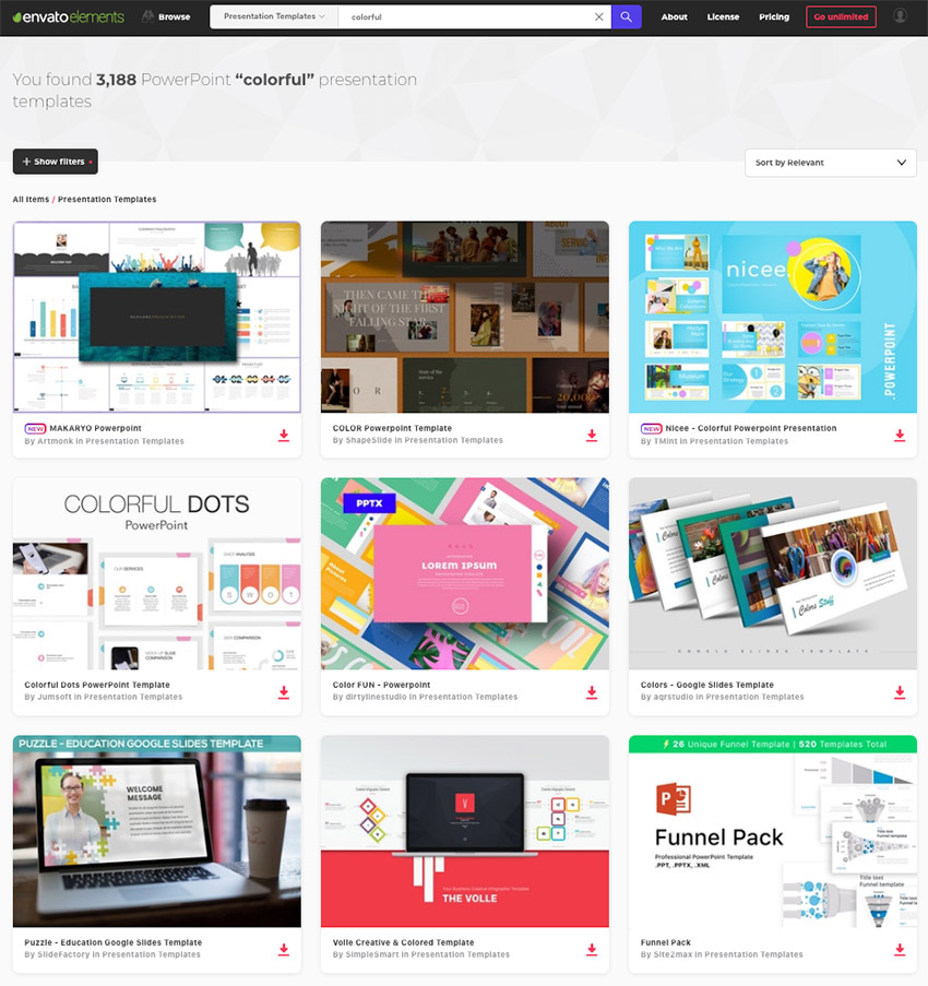 20+ Fun PowerPoint Templates With Colorful Slide Designs (For 2019)
