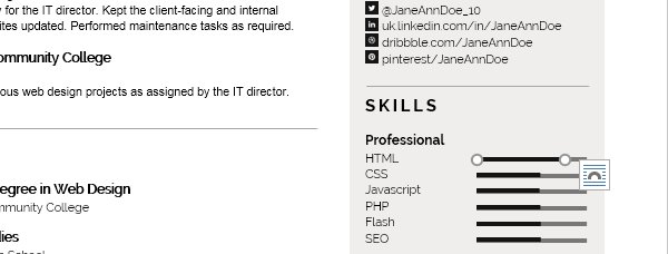 Personalize a Modern Resume Template in MS Word - skills resume template word