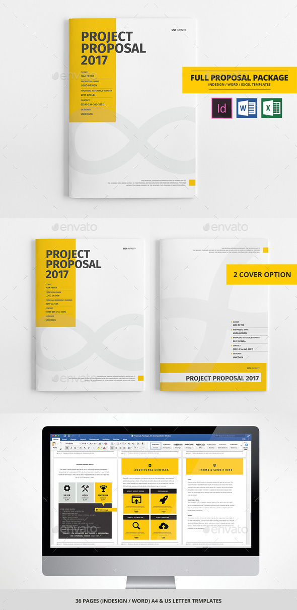 How to Customize a Simple Business Proposal Template in MS Word - It Services Proposal Template