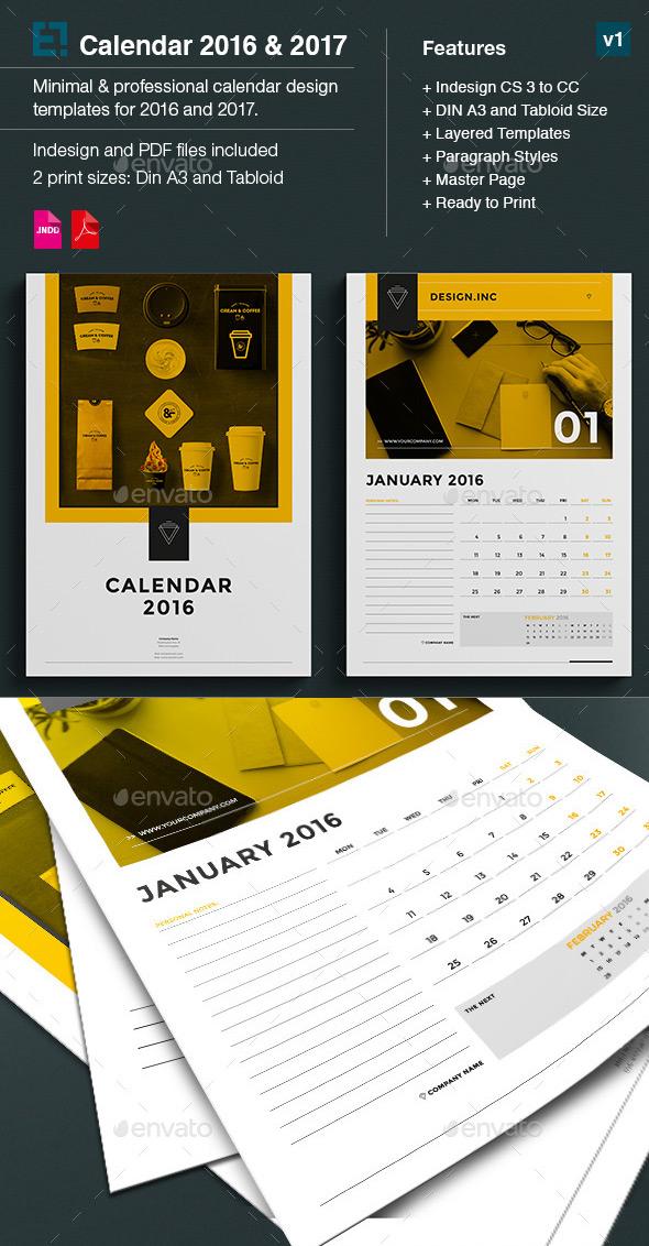 Kickstart 2016 With a Creative Monthly Calendar Template - microsoft monthly calendar templates