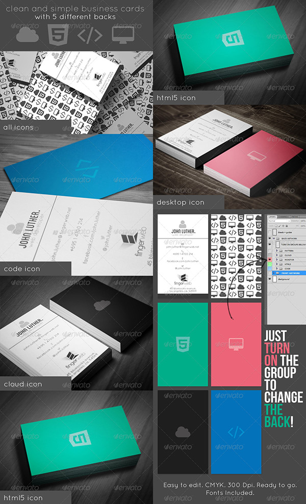 5 Noteworthy Back of Business Cards Ideas