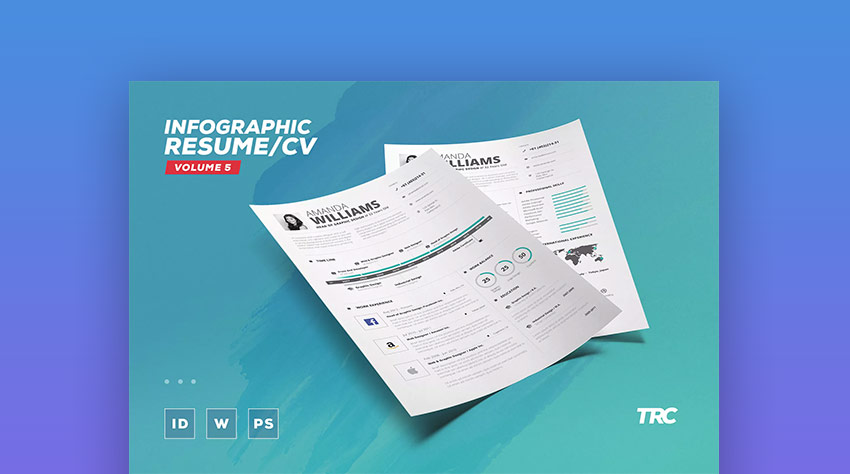 18+ Creative Infographic Resume Templates (For 2018)