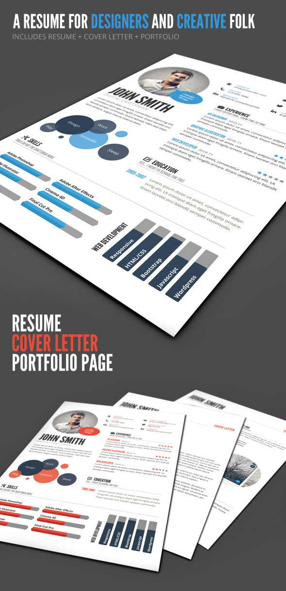 22+ Creative Infographic Resume Templates (Designs for 2019)