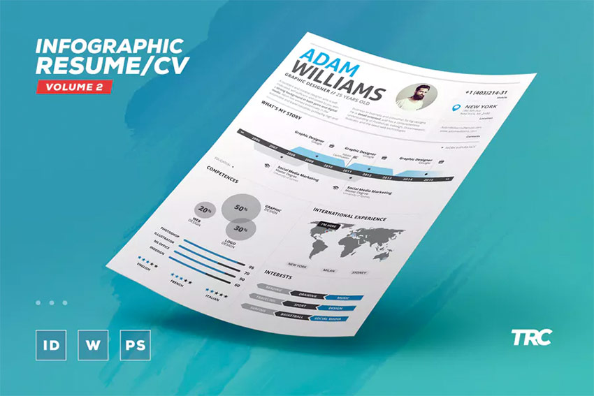 18+ Creative Infographic Resume Templates (For 2018) - infographic resume templates