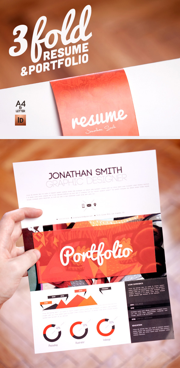 15 Creative, Infographic Resume Templates - graphic design resume templates