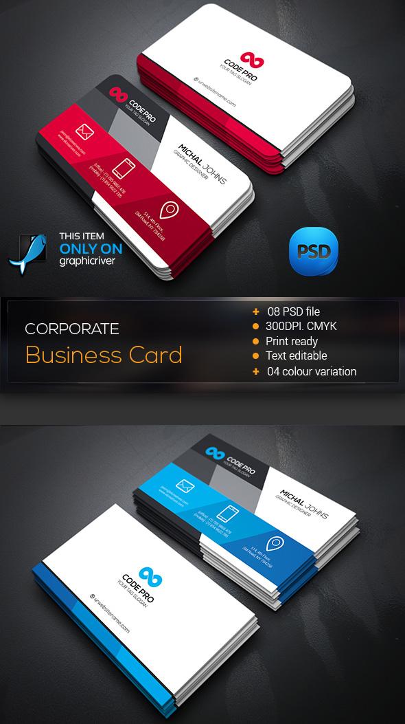 15 Premium Business Card Templates (In Photoshop, Illustrator - card design template