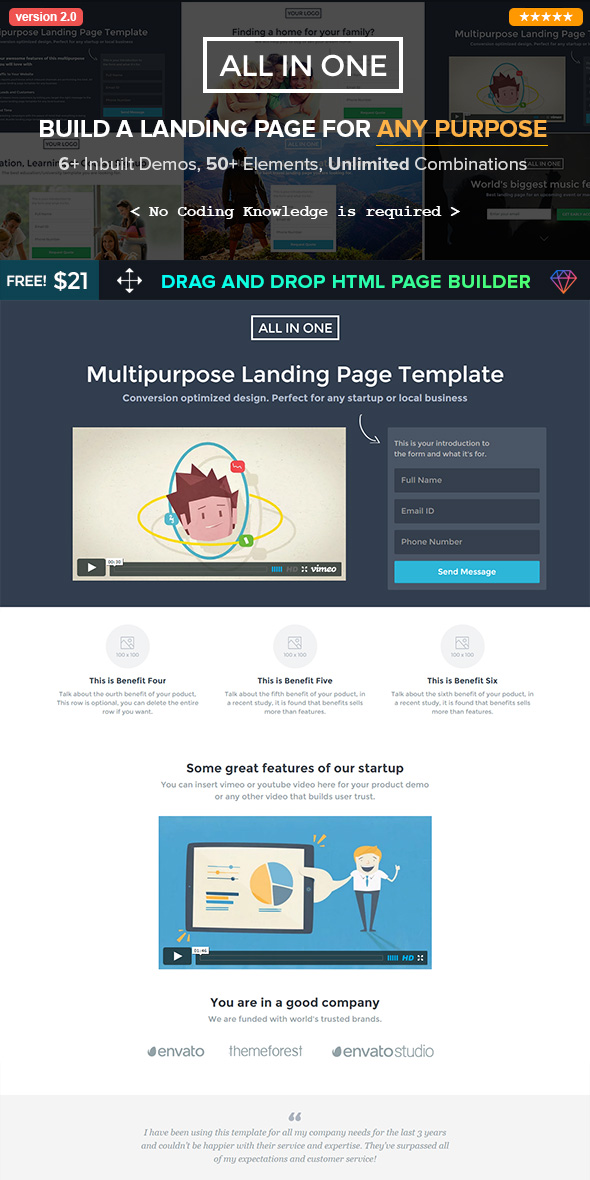 10 Best Bootstrap Landing Page Templates\u2014With Responsive Designs