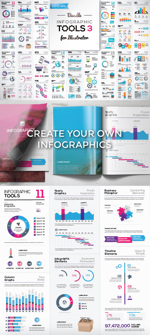 15 Best Infographic Template Designs on GraphicRiver