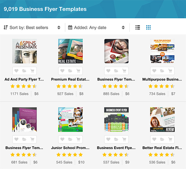 20 Business Flyer Templates With Creative Layout Designs - sample business flyers