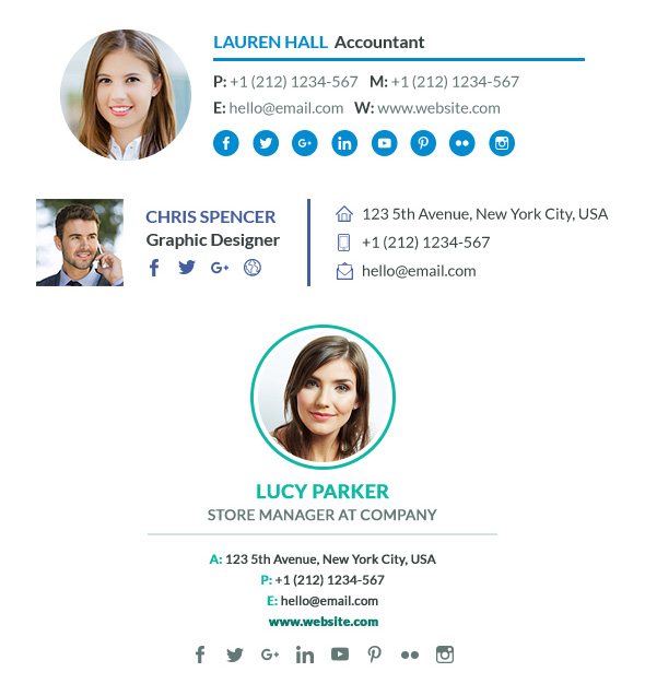 9 Professional Email Signature Tips\u2014With Best Template Examples