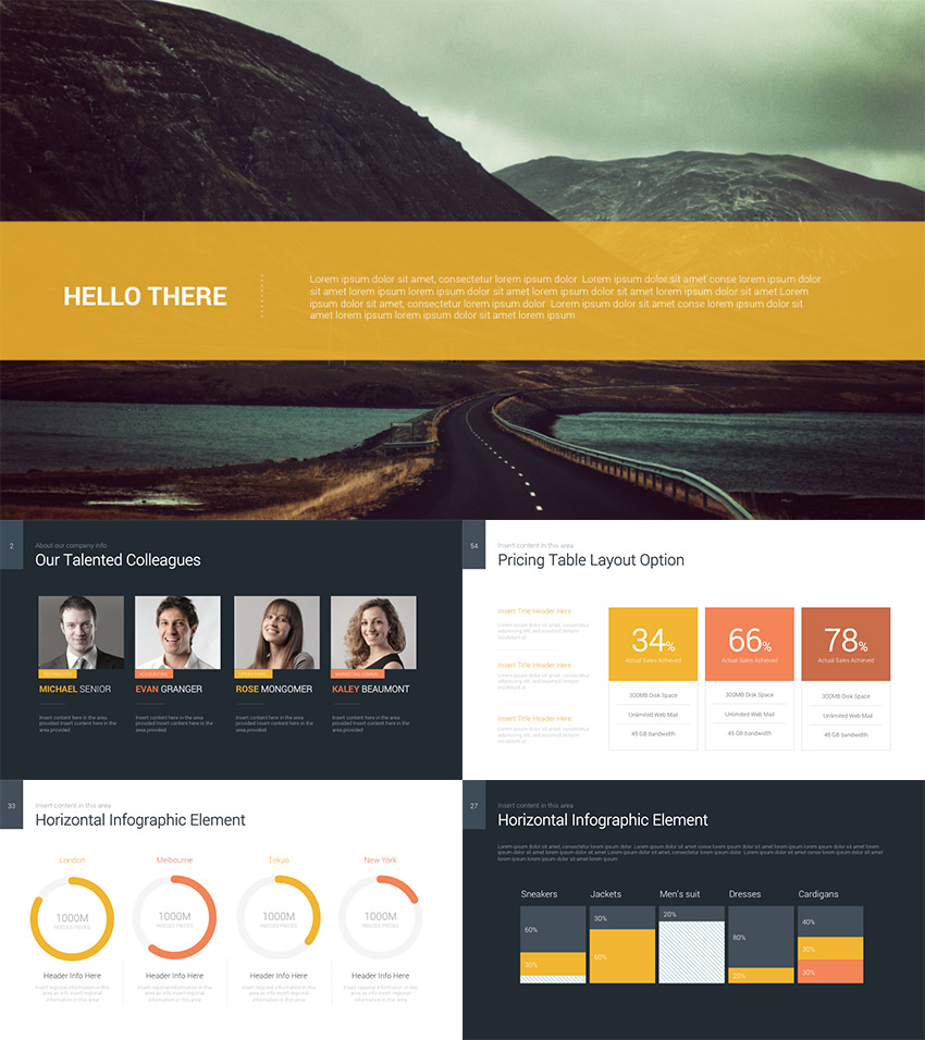 20 best pitch deck templates for business plan powerpoint decker data rich powerpoint business pitch template friedricerecipe Image collections