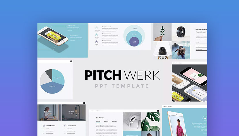 20 Best Pitch Deck Templates For Business Plan PowerPoint Presentations - product pitch template