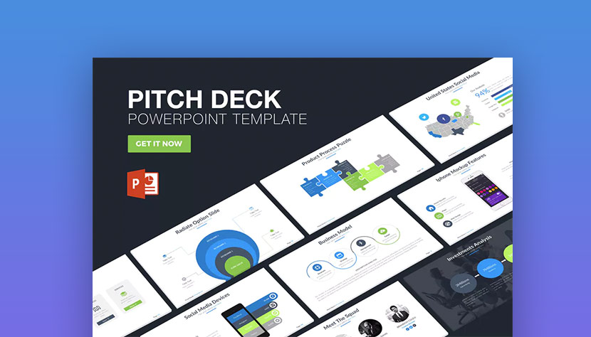 20 best pitch deck templates for business plan powerpoint pitch deck powerpoint presentation template cheaphphosting Images