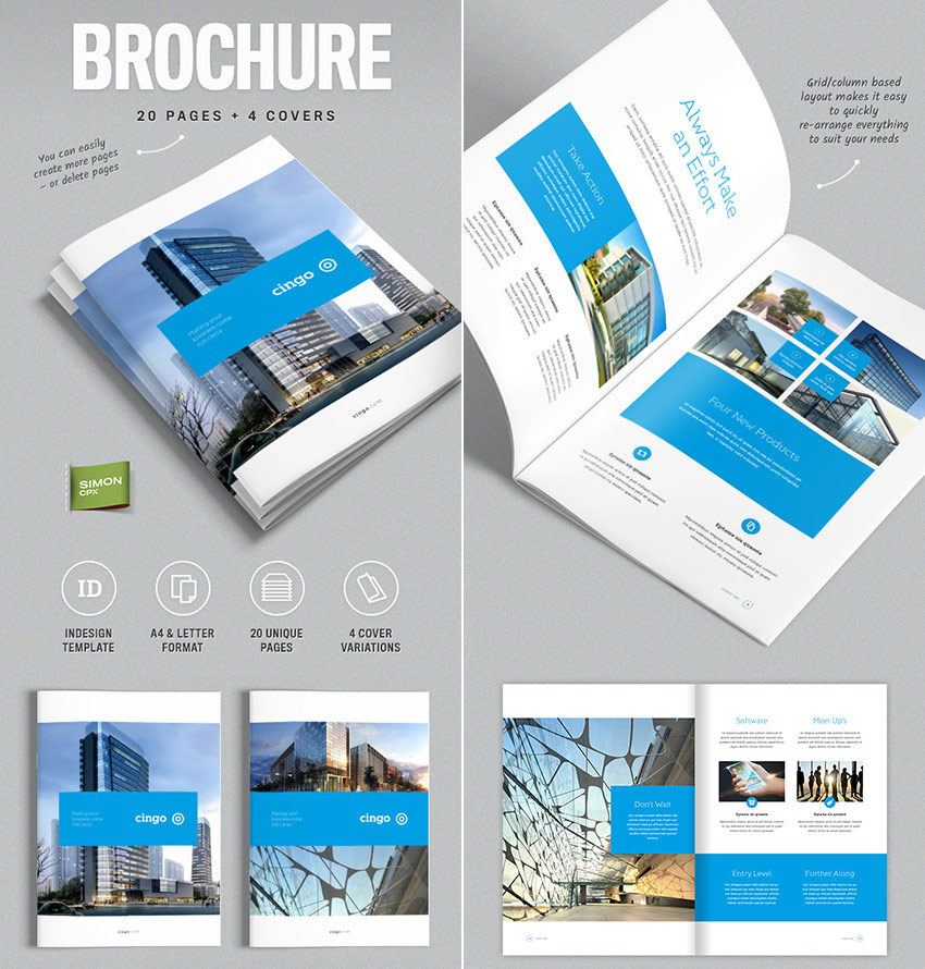20 Best InDesign Brochure Templates - For Creative Business Marketing