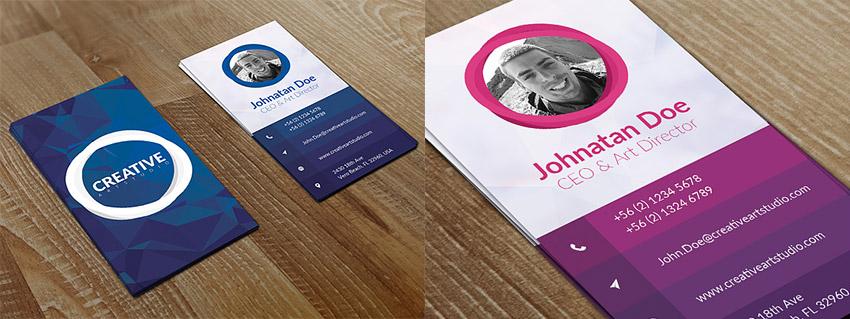 15 Creative Business Card Templates\u2014With Unique Designs