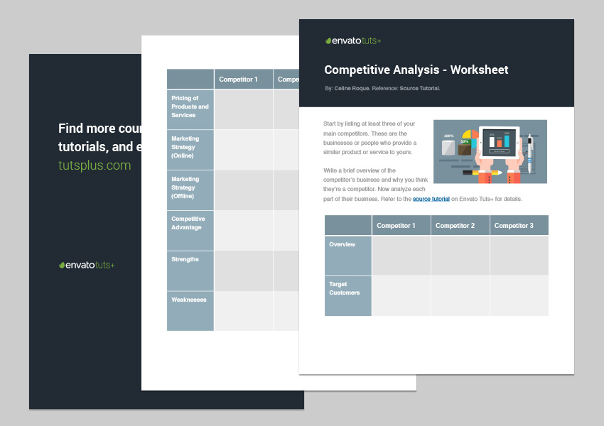How to Write a Competitive Analysis for Your Small Business (With - competitive analysis format