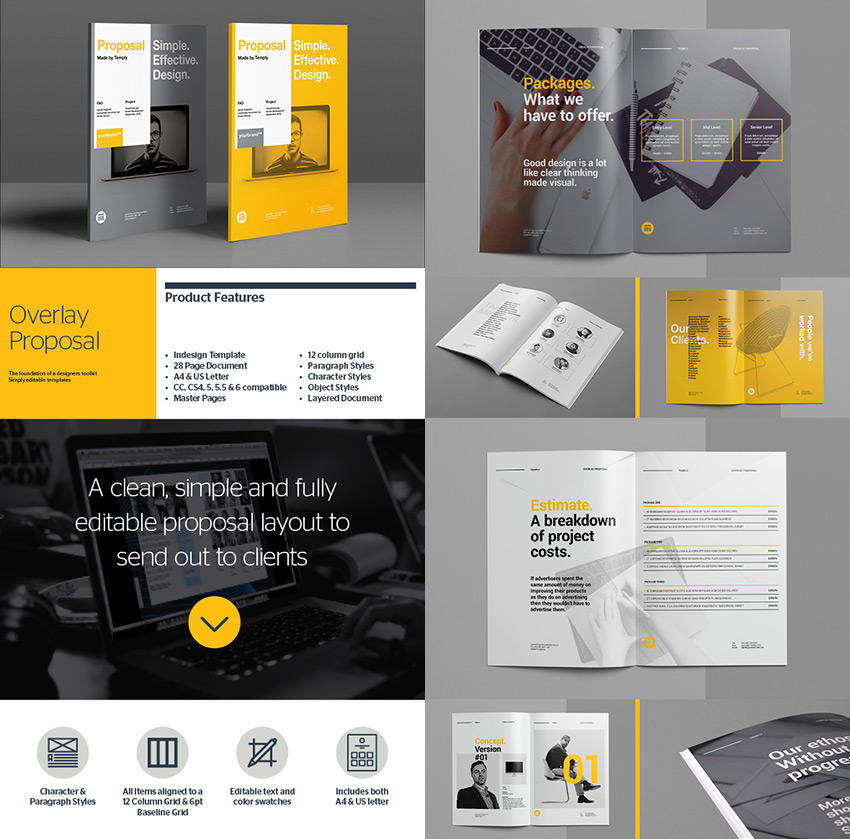 15 Best Business Proposal Templates For New Client Projects - design proposal