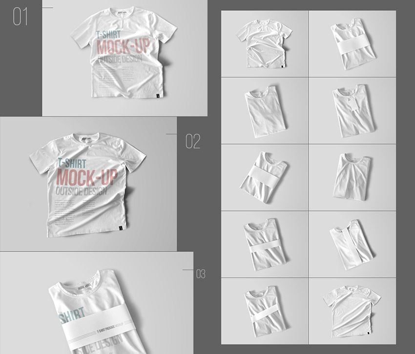 20+ T-Shirt Mockup PSD Templates (With Photorealistic Results)