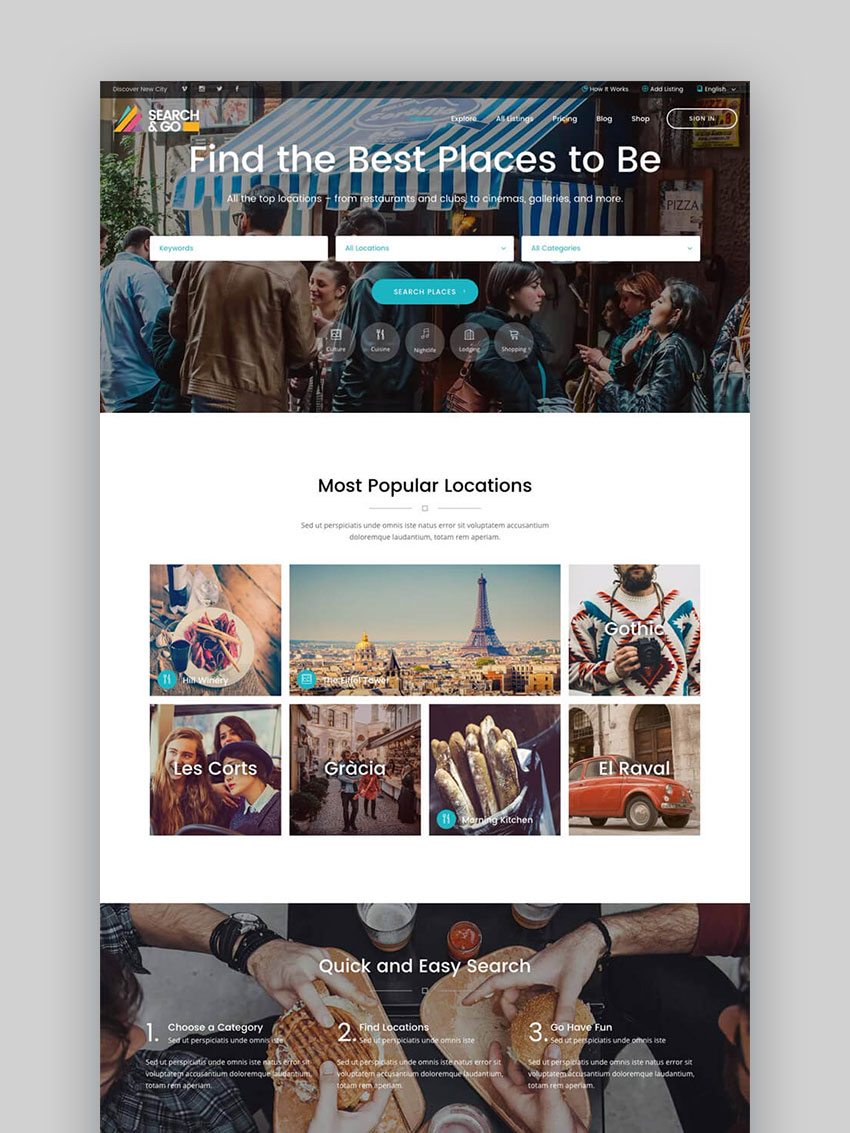20 best wordpress directory themes to make business websites 2017 search go smart wordpress business directory theme cheaphphosting Image collections