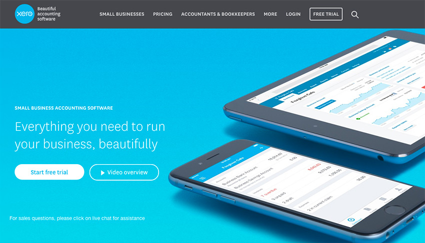 Xero Small Business Online Accounting Software