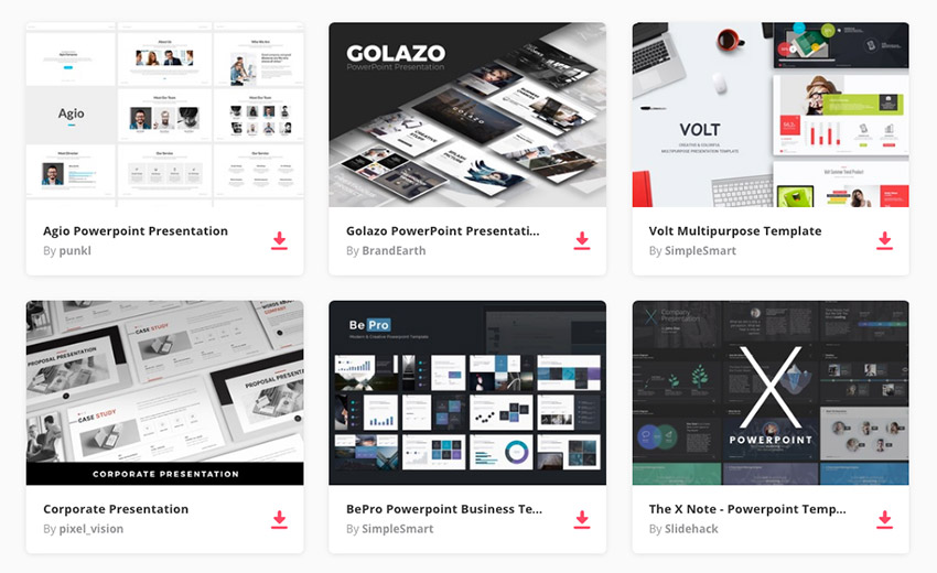 19+ Best PowerPoint PPT Template Designs for 2019