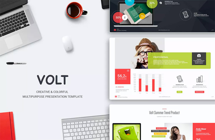 18+ Best PowerPoint Template Designs for 2018