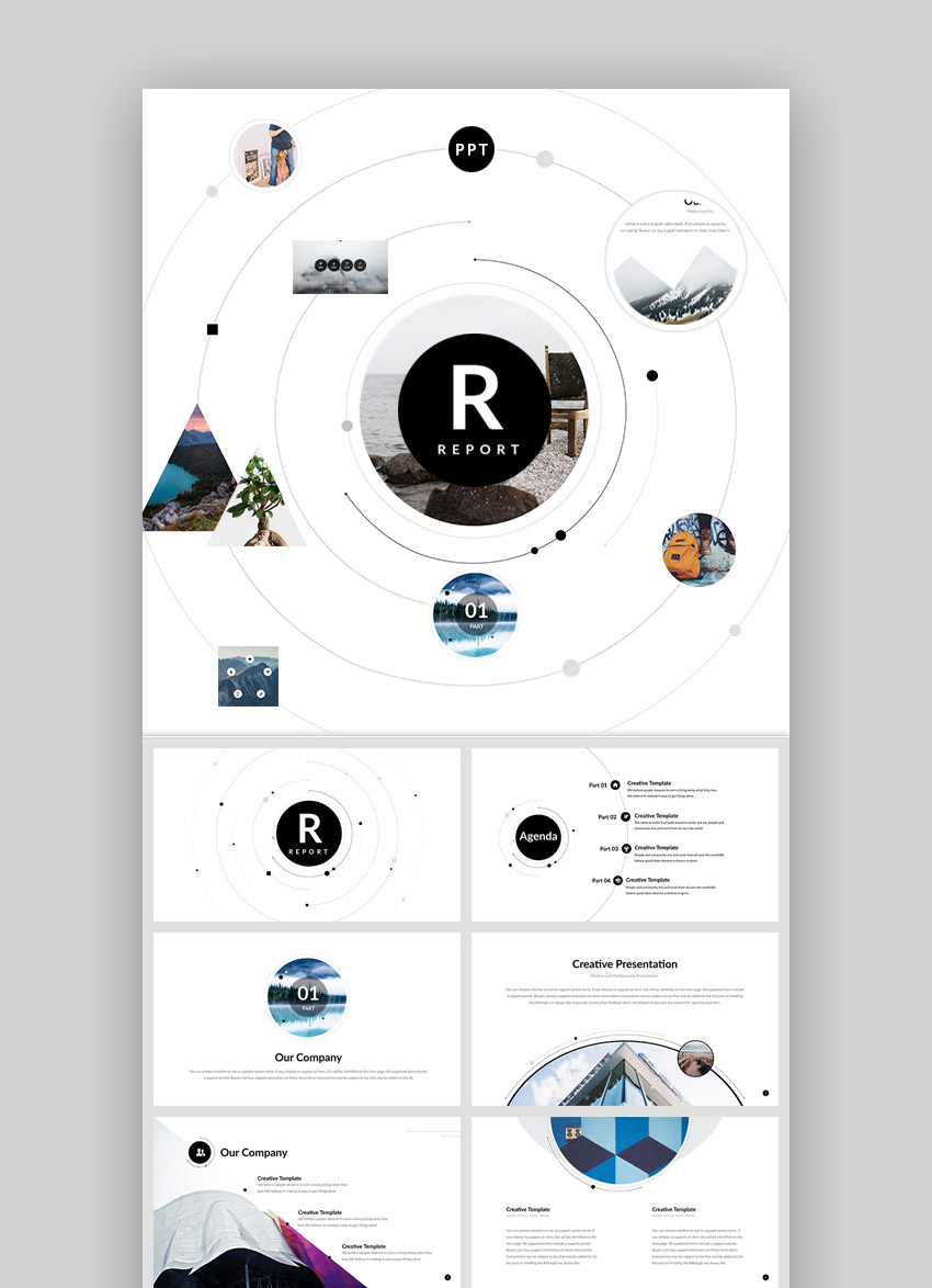 17 best powerpoint template designs for 2017 healthcare web report ppt presentation template with simple design toneelgroepblik Gallery