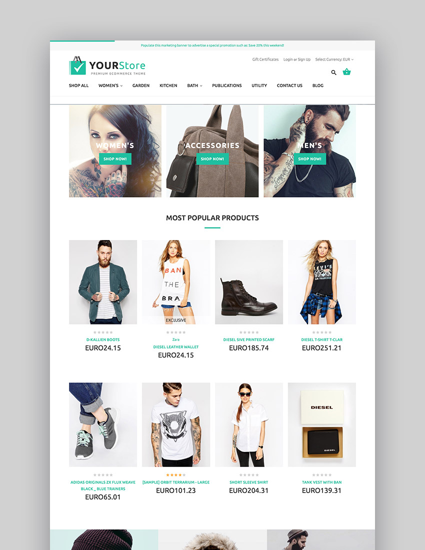 Design Online Shop How To Use A Bigcommerce Theme To Design Your Online Store