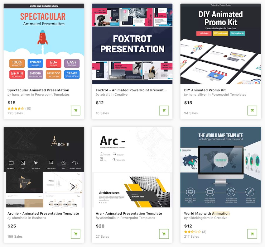 16+ Best Free Animated PowerPoint Templates With Cool Slides
