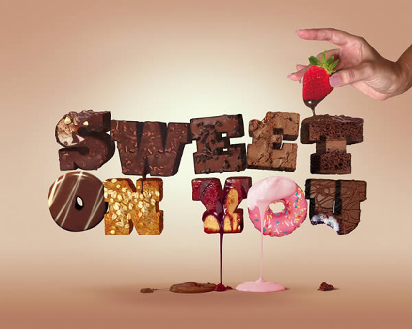 How to Create a Tasty 3D Typographic Illustration in Photoshop - illustrator typography tutorials