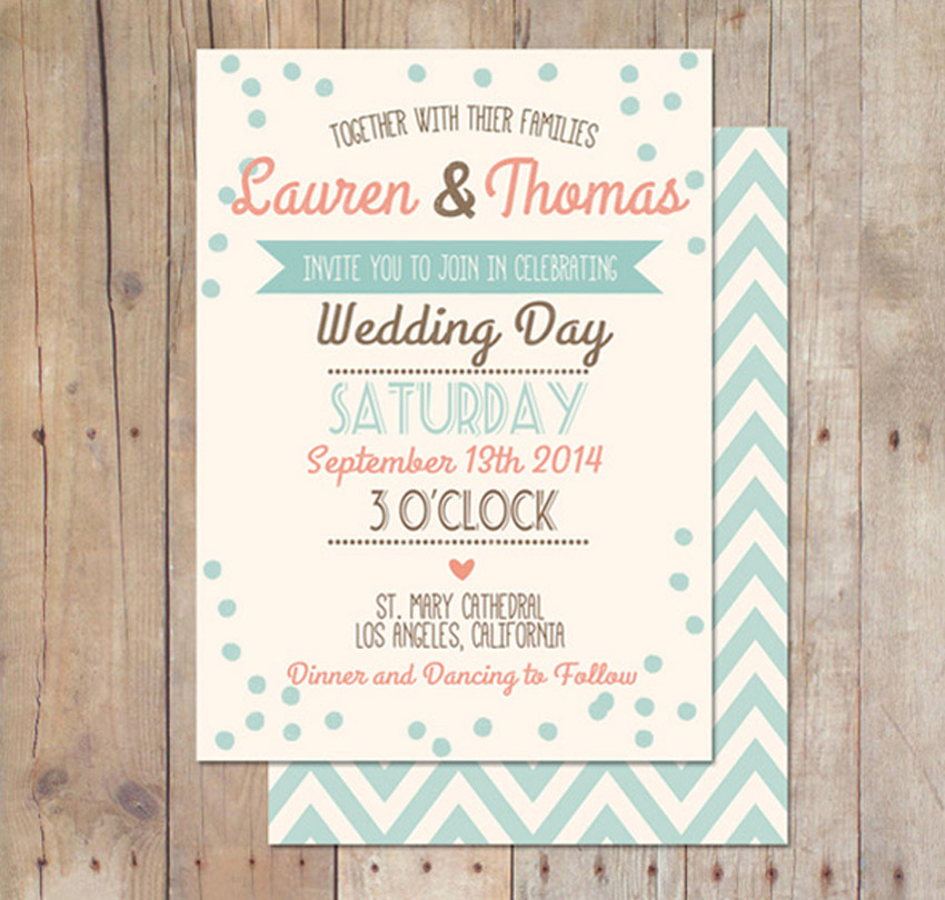 10 Design Tips for Creating Amazing Wedding Invitations - wedding card designing