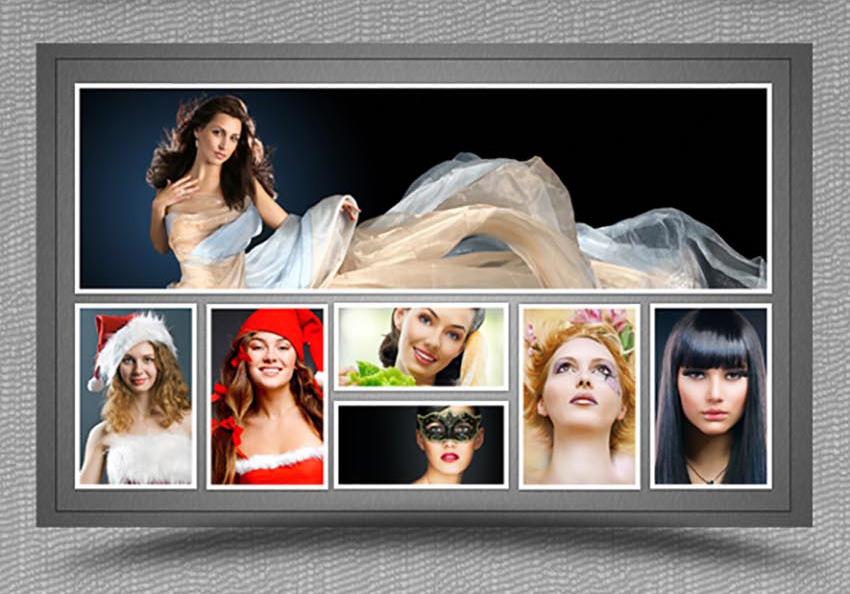 Las 30 Mejores Plantillas para Collage en Photoshop